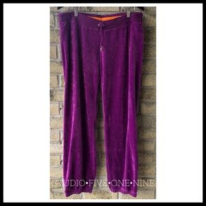 NIKE NWOT Velour Joggers in Grape